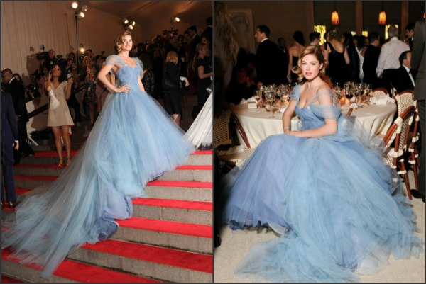 2010 Met Gala. Doutzen Kroes in Zac Posen. My honest opinion on this ethereal gown, no you can never wear it any where, this isn't for your everyday event. BUT it is for an event that encompasses what the Met is celebrating. Amazing design, timeless glamour and an over the top presence that will have everyone remembering the dress, model and designer who brought this look to the gala.