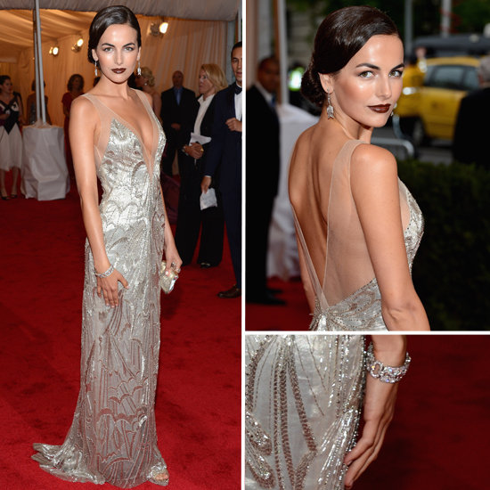 2012 Met Gala. Our cover girl in front of the sea of photographers Camilla Belle in Ralph Lauren. A beautiful young girl bringing old Hollywood glamour to the gala.