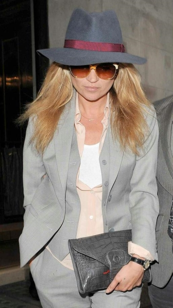 Kate Moss in Borsalino