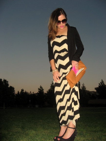 Evening with maxi outfit