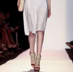 Let's talk those shoes for a moment. I'll take those in a size 8 thank you!  Courtesy of NowFashion.com BCBGMAXAZRIA S/S 2014