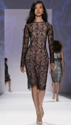 A covered up but very sexy look. Courtesy of nowfashion.com Shoji S/S 2014