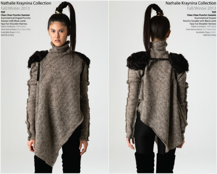 "I'm always looking for different kinds of sweaters instead of the boring cable knit. This is just the right amount of ""edgy"" I love!"