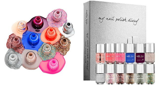 Nails Inc. Nail Polish Diary Set for $42