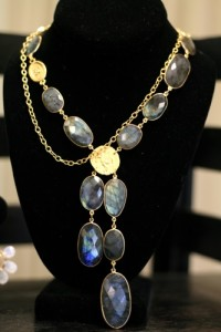 Catherine Page necklace with Chanel pendant. I'm obsessing over this necklace!
